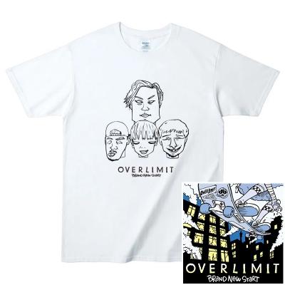 OVER LIMITxIMC限定Tシャツ付きCD予約受付開始!