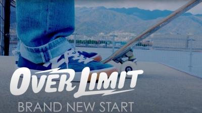 OVER LIMITの「BRAND NEW START」のMV公開!